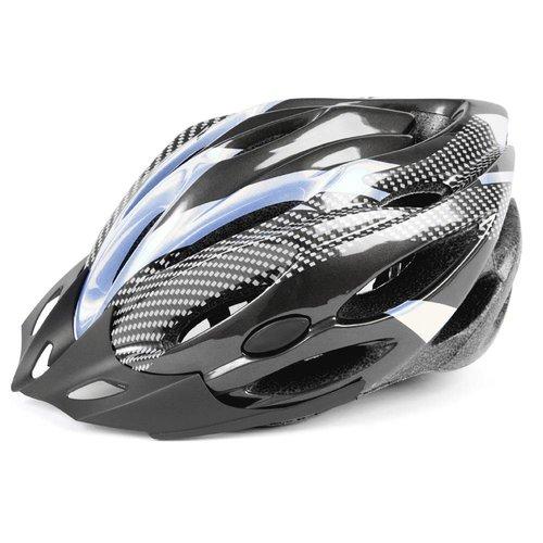Mirage helm Allround 53-58 zwart/zilver