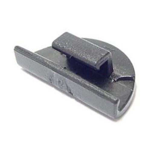 Hesling jasbeschermer Combi clip zwart