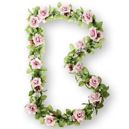 Basil Basil bloemslinger rozen roze