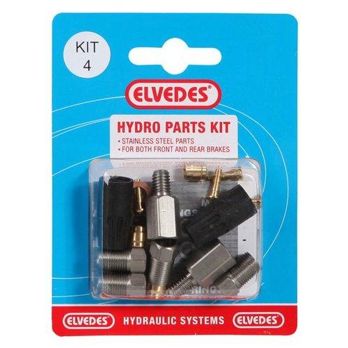 Elvedes hydro onderdelen set 4