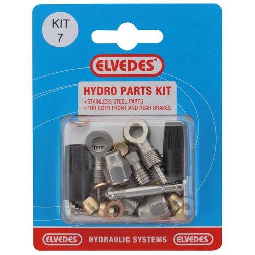 Elvedes hydro onderdelen set 7