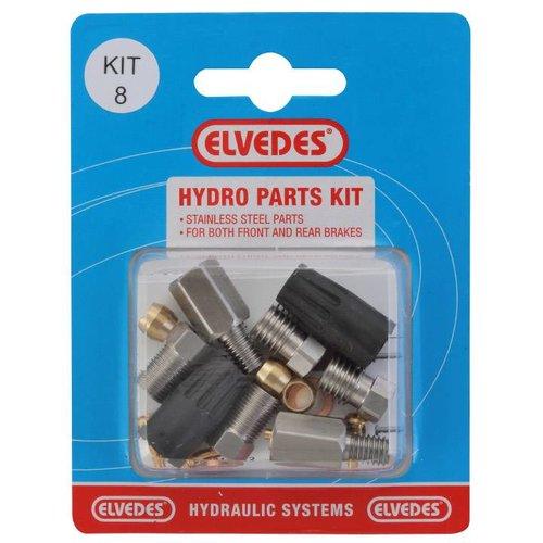 Elvedes hydro onderdelen set 8