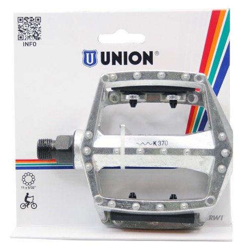 Union  Union pedalen 102 BMX 9/16 zilver