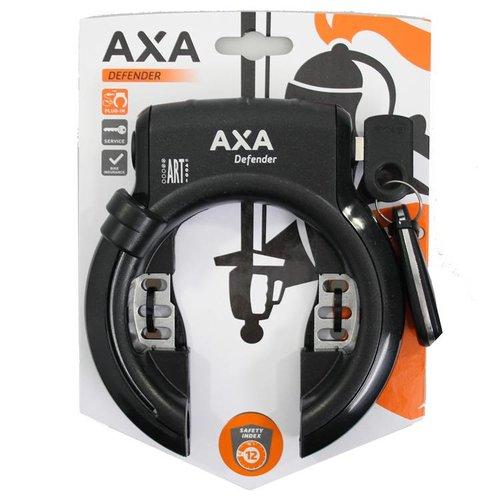 AXA Axa ringslot Defender zwart/zwart