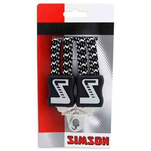 Simson Simson snelbinder zilver/groen