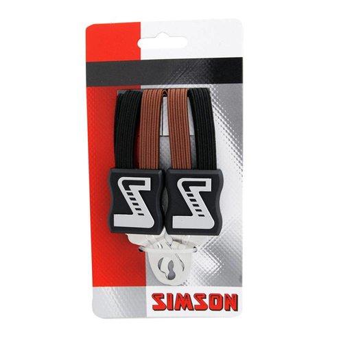 Simson Simson snelbinder strong zwart/bruin