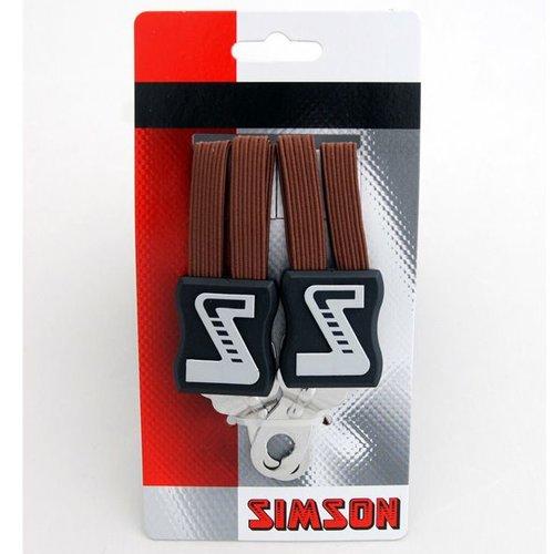 Simson Simson snelbinder lang bruin