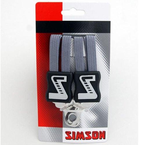 Simson Simson snelbinder lang antraciet