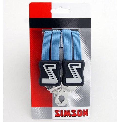 Simson Simson snelbinder lang lichtblauw