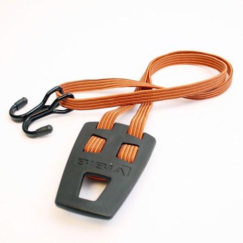 Bibia binder transp + haken bruin/oranje