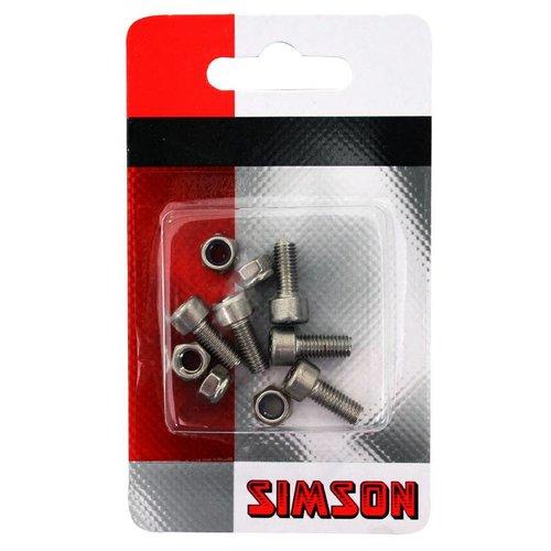 Simson Simson inbusboutjes M5x12 RVS (5)