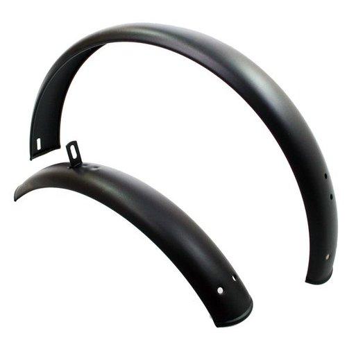 Alpina spatbordset 26 RAL9005 zwart