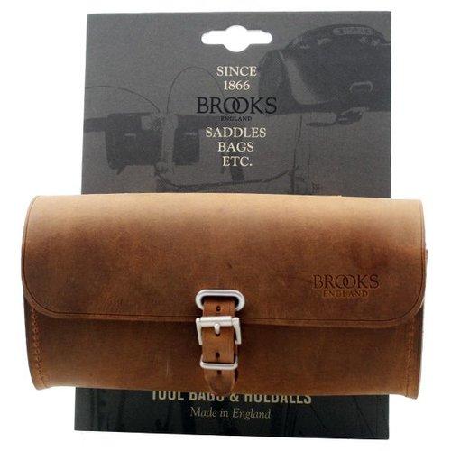 Brooks Brooks zadeltas Challenge L Aged brown