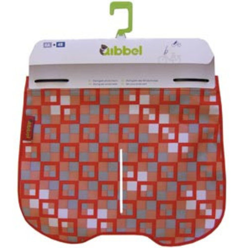 Qibbel windschermflap checked rood