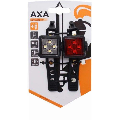AXA Axa verlichtingsset Niteline 44 R usb