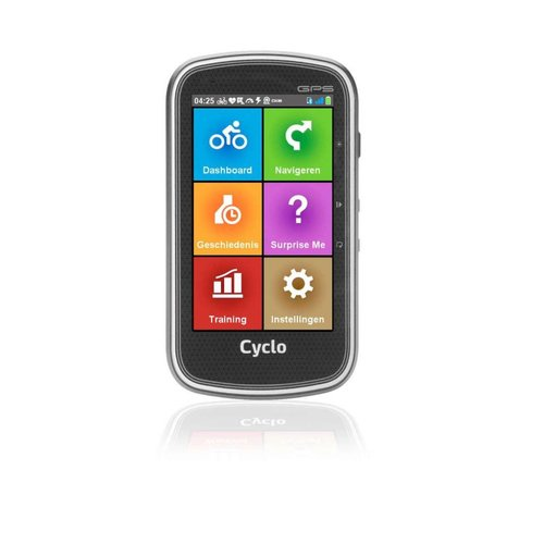 Mio Mio Fietsnavigatie Cyclo 605HC Europa compleet