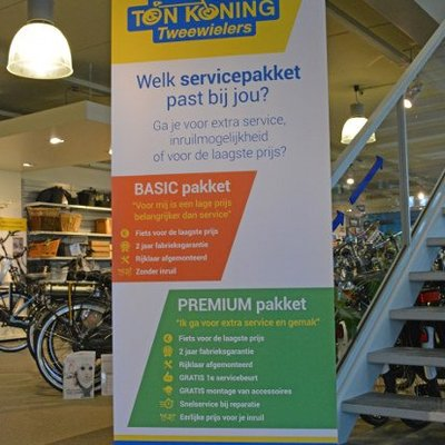 Ton Koning service pakketten