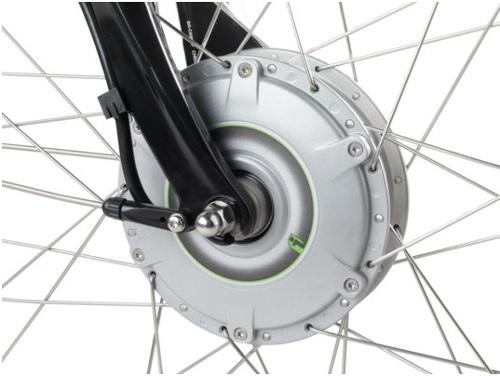 Voorwielmotor e-bike