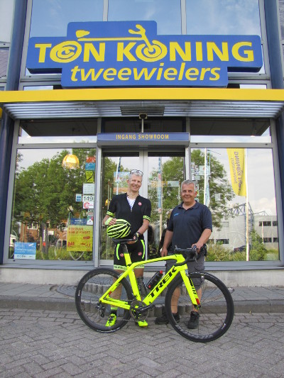 Aflevering Trek Project One Madone 9.9