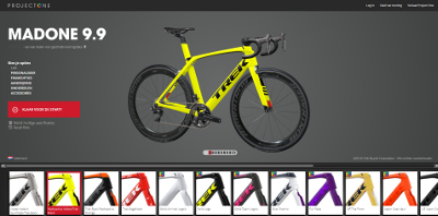 Trek Project One configurator