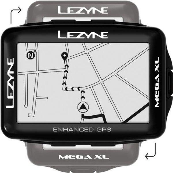 Lezyne Mega XL GPS fietscomputer