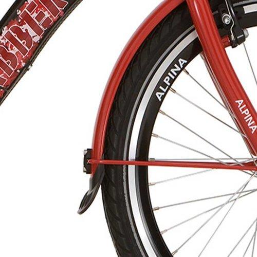 Alpina spatbordset 22 GP red