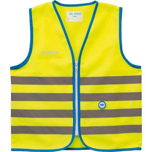Wowow Fun jacket geel mt. S