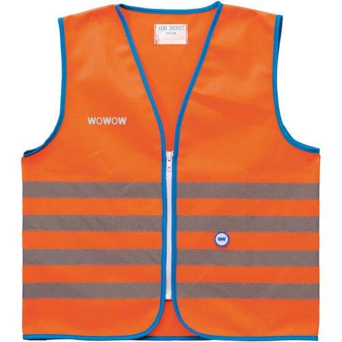 Wowow Fun jacket oranje mt. S