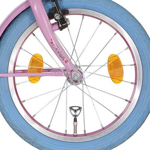 Alpina voorwiel 18 inch roze