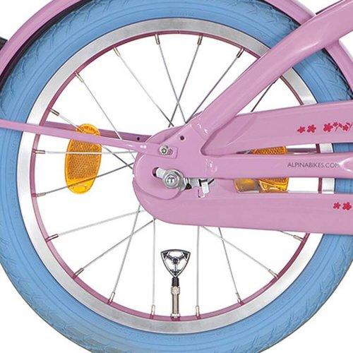 Alpina achterwiel 16 inch roze