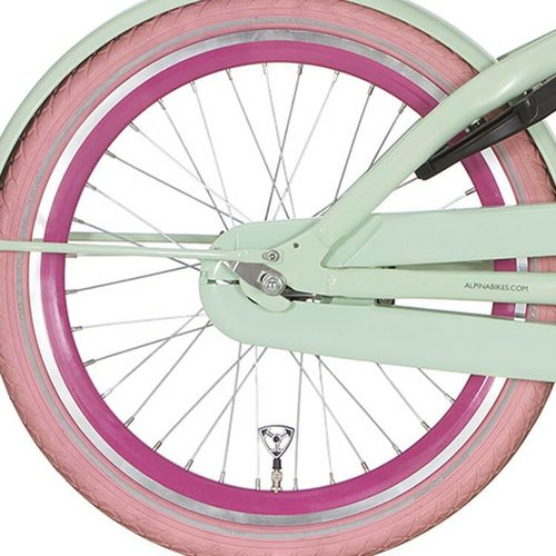 Alpina achterwiel 20inch J19DB roze