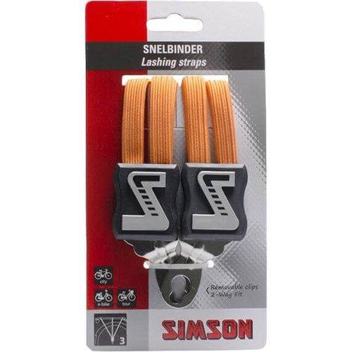 Simson snelbinder lang oranje