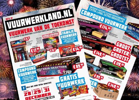 Folder Vuurwerkland 2018