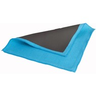 Nanex towel 30 x 30 cm light blue fine