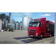 Zestaw 2 mat dezynfekcyjnych do samochodów osobowych i ciężarowych