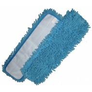 Mop Mikrofibra 'Rasta' niebieski 44 x 13 cm