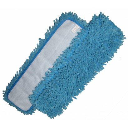 Mop Microvezel ''Rasta'' blauw 44 x 13 cm