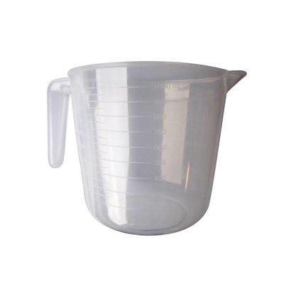 Maatbeker 1 Liter voor het vullen van stelen met waterreservoir
