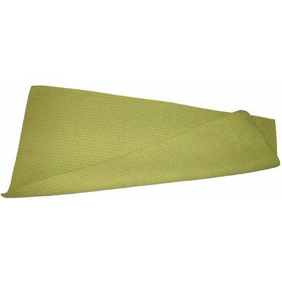 Gewafelde dweil 55 x 27 cm geel voor Rakleto