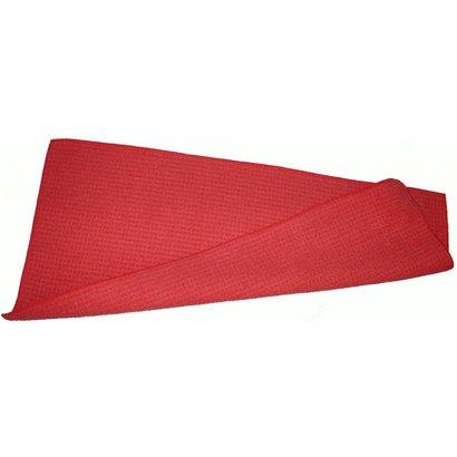 Gewafelde dweil 55 x 27 cm rood voor Rakleto