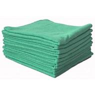 Sachet 10 x Tricot FIRST vert 38 x 38 cm