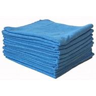 Sachet 10 x Tricot FIRST bleu 38 x 38 cm