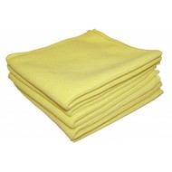 Bag 5 x Tricot Luxe 40 x 40 yellow