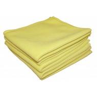 Zakje 5 x Tricot Luxe 40 x 40 geel