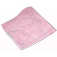 """Panno in microfibra """"Tricot Class"""" 40x40 cm rosa"""