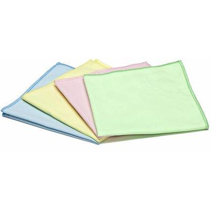"""Microfibre cloth """"Tissé Luxe"""" 40 x 40 cm blue"""
