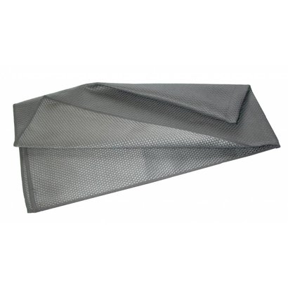 "Microfibre cloth ""Metalik"" 40 x 75 cm grey"