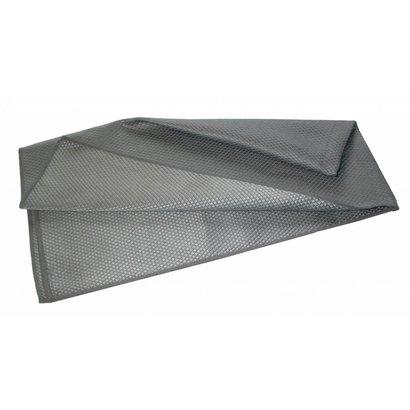 """Microvezeldoek """"Metalik"""" 40 x 75 cm grijs"""