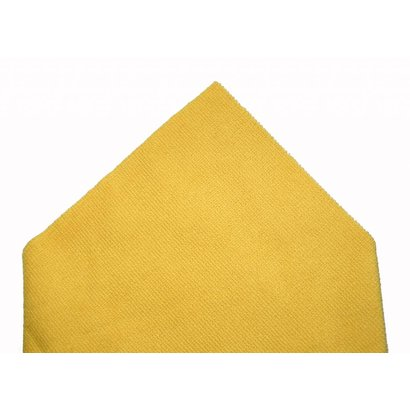Pack of 5 x Tricot Laser Pro 38 x 38 cm yellow