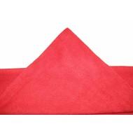 Zakje 5 x Microvezeldoek Tricot Laser Auto 40 x 40 cm rood